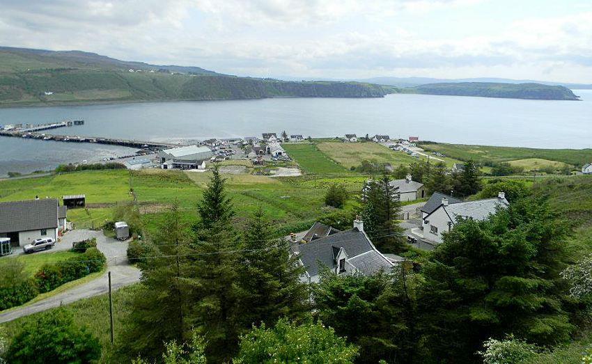 Harris Cottage Bed And Breakfast Accommodation Uig Isle